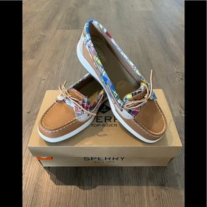 Sperry Top Sider Madras Boat Shoes